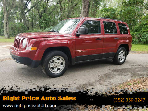 2014 Jeep Patriot for sale at Right Price Auto Sales-Gainesville in Gainesville FL