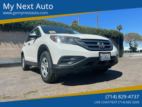 2013 Honda CR-V for sale at My Next Auto in Anaheim CA