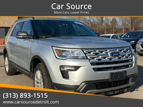2019 Ford Explorer for sale at Car Source in Detroit MI