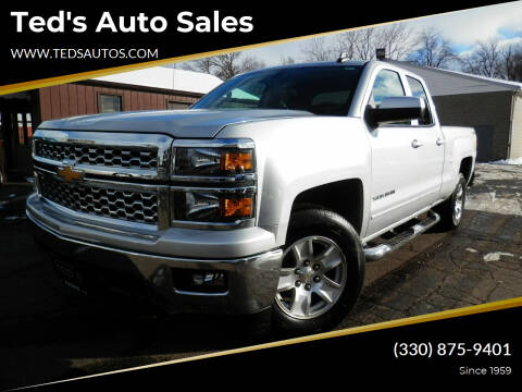 2015 Chevrolet Silverado 1500 for sale at Ted's Auto Sales in Louisville OH