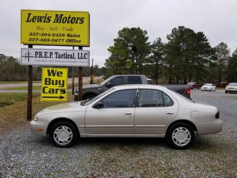 1997 Nissan Altima for sale at Lewis Motors LLC in Deridder LA
