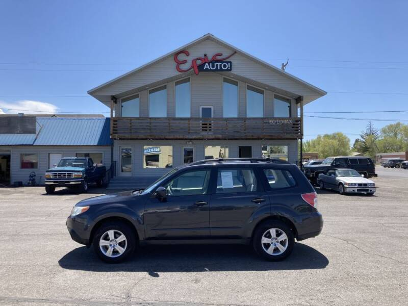 2012 Subaru Forester for sale at Epic Auto in Idaho Falls ID