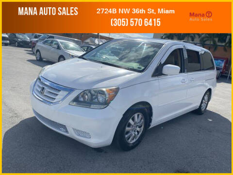 2008 Honda Odyssey for sale at MANA AUTO SALES in Miami FL