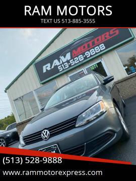 2014 Volkswagen Jetta for sale at RAM MOTORS in Cincinnati OH