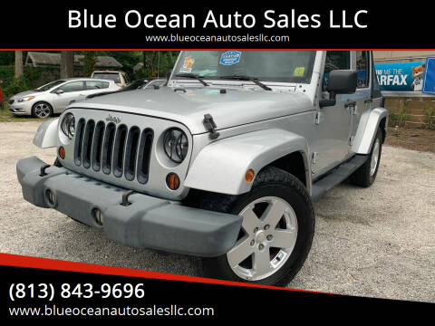 2007 Jeep Wrangler Unlimited for sale at Blue Ocean Auto Sales LLC in Tampa FL