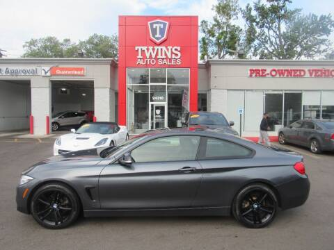 2014 BMW 4 Series for sale at Twins Auto Sales Inc in Detroit MI