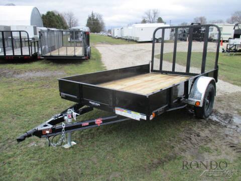 2020 PJ Trailer U2 Single Axle Utility U221031 for sale at Rondo Truck & Trailer in Sycamore IL
