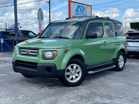 2007 Honda Element for sale at Ark Motors in Orlando FL
