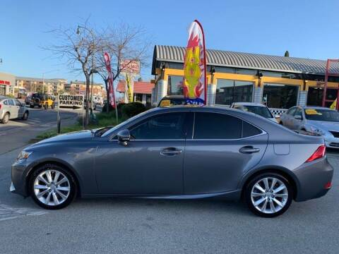 2016 Lexus IS 200t for sale at San Mateo Auto Sales in San Mateo CA