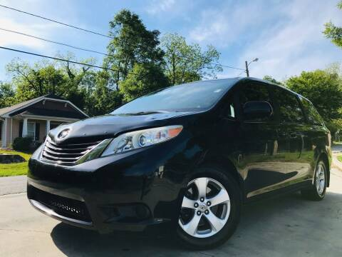 2012 Toyota Sienna for sale at E-Z Auto Finance in Marietta GA