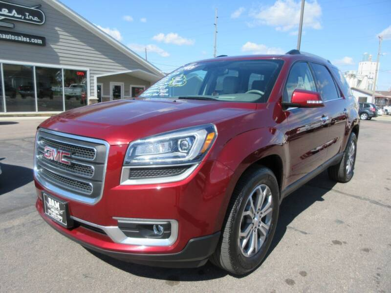 2015 GMC Acadia for sale at Dam Auto Sales in Sioux City IA