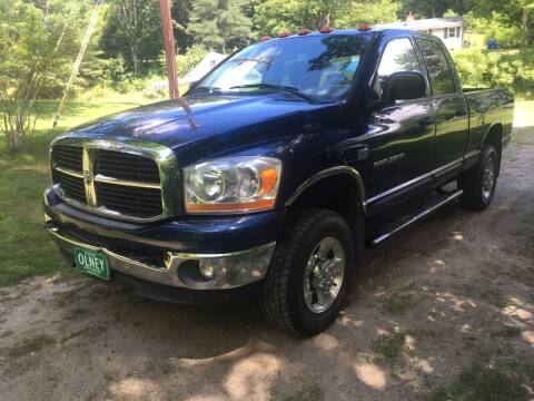 2006 Dodge Ram Pickup 2500 for sale at Olney Auto Sales in Springfield VT