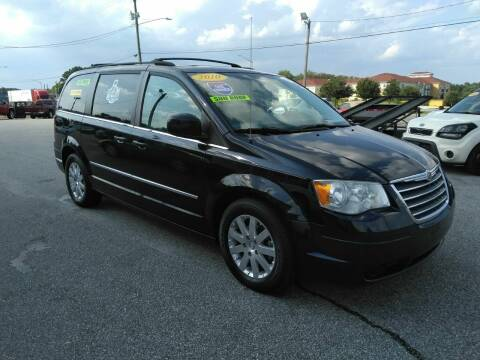 2010 Chrysler Town and Country for sale at Kelly & Kelly Supermarket of Cars in Fayetteville NC