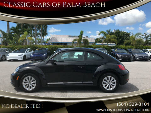 2015 Volkswagen Beetle for sale at Classic Cars of Palm Beach in Jupiter FL
