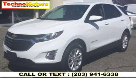 2018 Chevrolet Equinox for sale at Techno Motors in Danbury CT