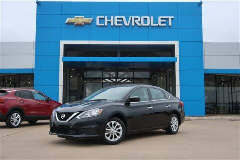 2019 Nissan Sentra for sale at Lipscomb Auto Center in Bowie TX