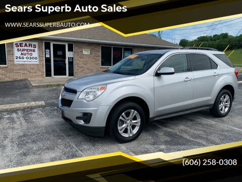 2013 Chevrolet Equinox for sale at Sears Superb Auto Sales in Corbin KY
