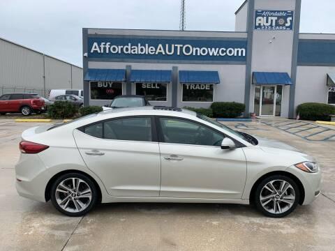 2017 Hyundai Elantra for sale at Affordable Autos in Houma LA