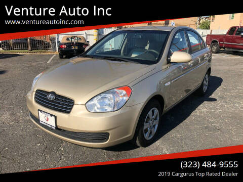 2007 Hyundai Accent for sale at Venture Auto Inc in South Gate CA