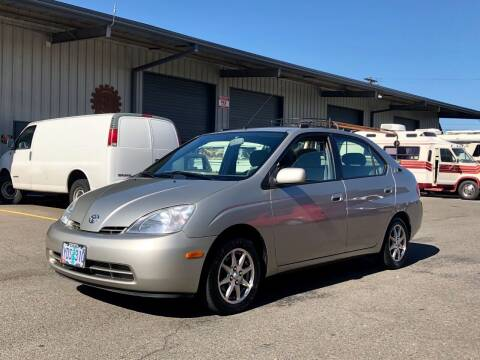 2001 Toyota Prius for sale at DASH AUTO SALES LLC in Salem OR