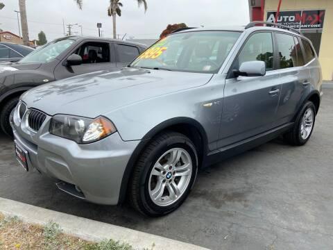 2006 BMW X3 for sale at Auto Max of Ventura - Automax 3 in Ventura CA