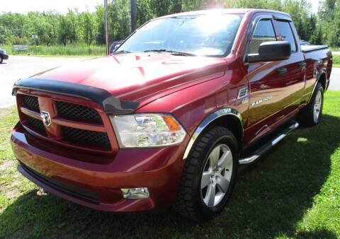 2012 RAM Ram Pickup 1500 for sale at LOT OF DEALS, LLC in Oconto Falls WI