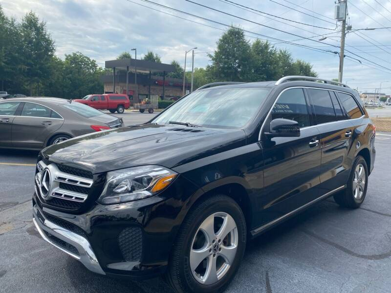 2018 Mercedes-Benz GLS for sale at Viewmont Auto Sales in Hickory NC
