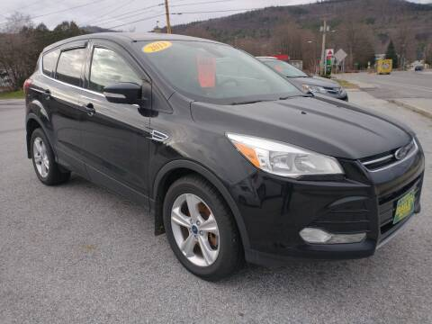 2013 Ford Escape for sale at BAILEY MOTORS INC in West Rutland VT