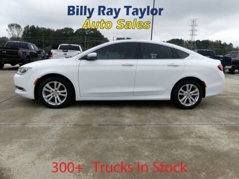2015 Chrysler 200 for sale at Billy Ray Taylor Auto Sales in Cullman AL