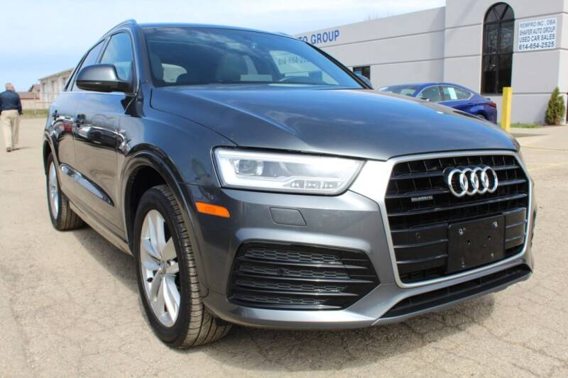 2018 Audi Q3 for sale at SHAFER AUTO GROUP in Columbus OH