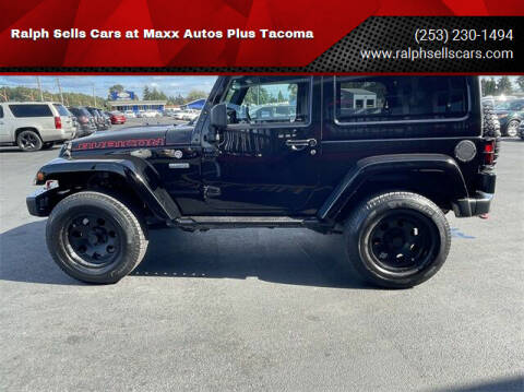 2017 Jeep Wrangler for sale at Ralph Sells Cars at Maxx Autos Plus Tacoma in Tacoma WA
