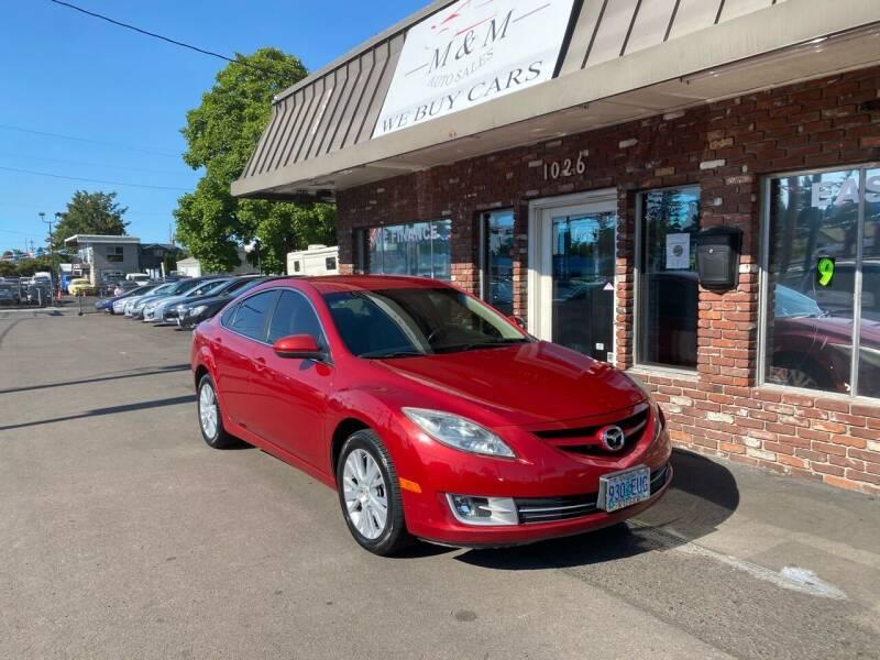 2009 Mazda MAZDA6 for sale at M&M Auto Sales in Portland OR