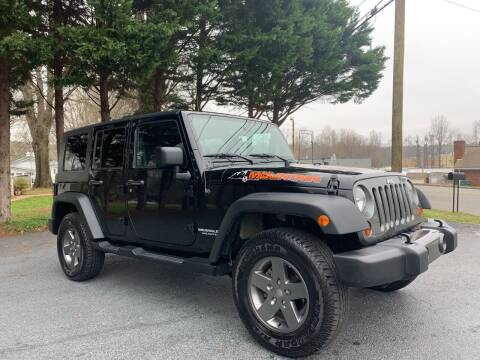 2010 Jeep Wrangler Unlimited for sale at Mike's Wholesale Cars in Newton NC