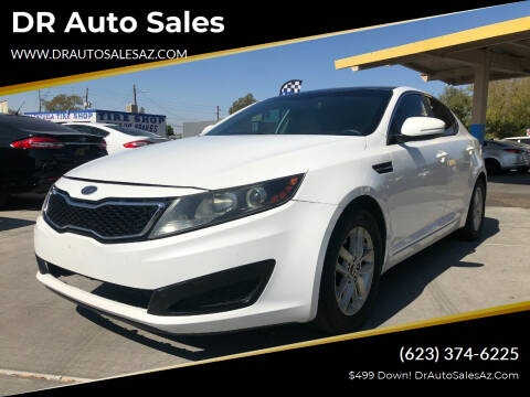 2011 Kia Optima for sale at DR Auto Sales in Glendale AZ