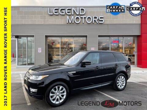 2017 Land Rover Range Rover Sport for sale at Legend Motors of Detroit - Legend Motors of Waterford in Waterford MI
