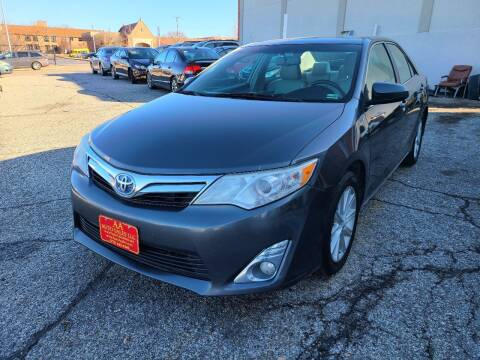2013 Toyota Camry Hybrid for sale at AA Auto Sales LLC in Columbia MO