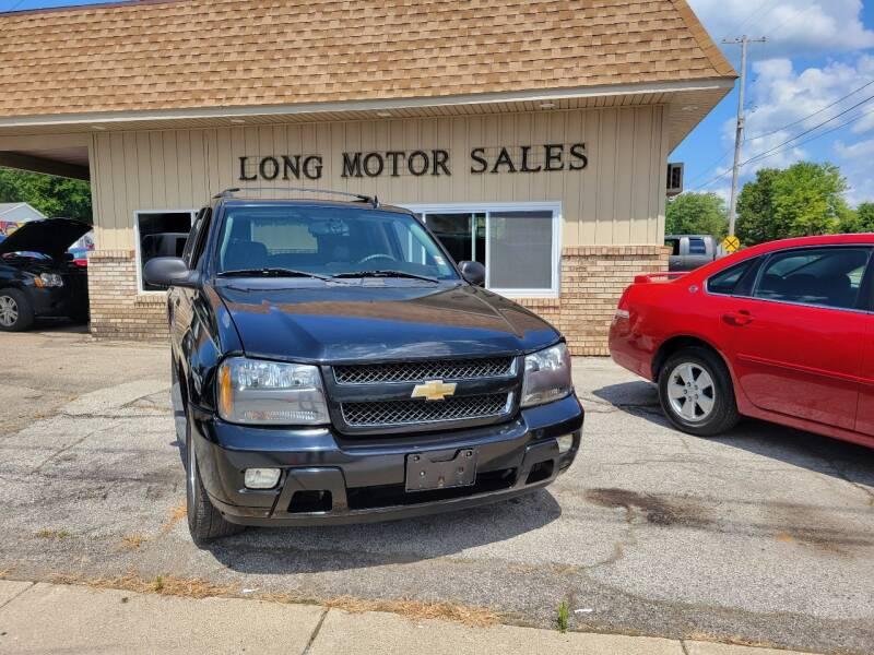 2008 Chevrolet TrailBlazer for sale at Long Motor Sales in Tecumseh MI
