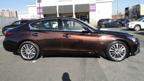 2019 Infiniti Q50 for sale at AFFORDABLE MOTORS OF BROOKLYN in Brooklyn NY