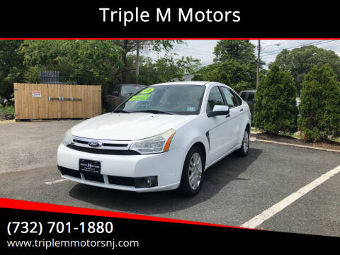 2008 Ford Focus for sale at Triple M Motors in Point Pleasant NJ