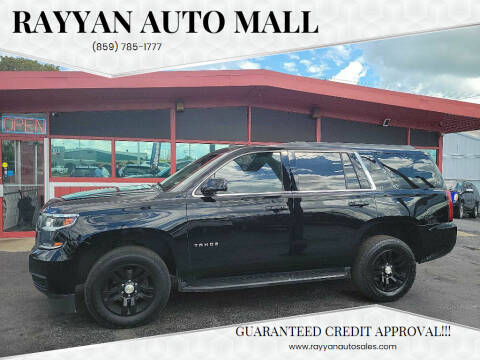 2015 Chevrolet Tahoe for sale at Rayyan Auto Mall in Lexington KY