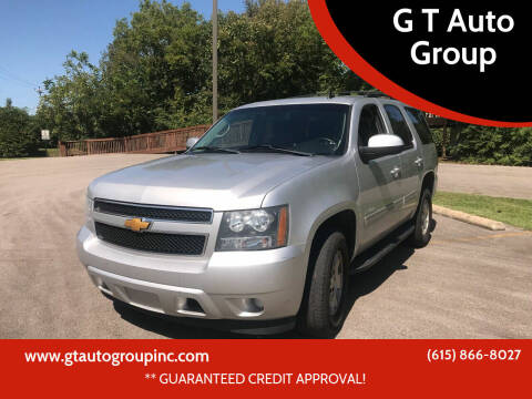 2014 Chevrolet Tahoe for sale at G T Auto Group in Goodlettsville TN