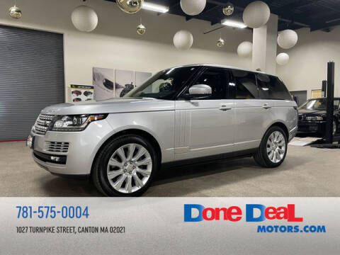 2014 Land Rover Range Rover for sale at DONE DEAL MOTORS in Canton MA