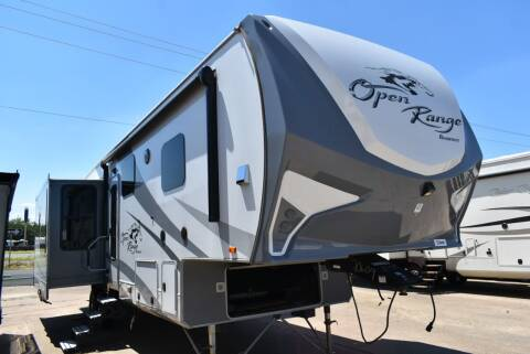 2017 Highland Ridge Open Range Roamer 348RLS for sale at Buy Here Pay Here RV in Burleson TX