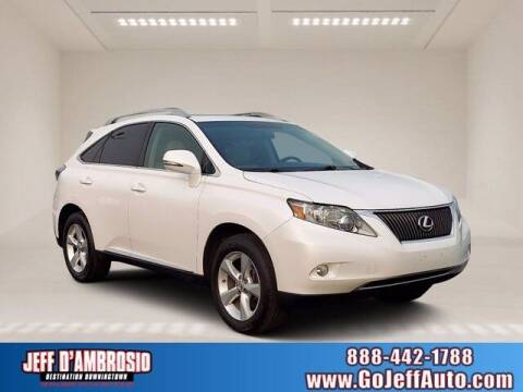 2010 Lexus RX 350 for sale at Jeff D'Ambrosio Auto Group in Downingtown PA