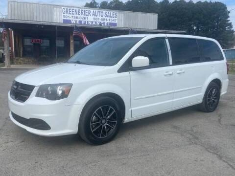 2016 Dodge Grand Caravan for sale at Greenbrier Auto Sales in Greenbrier AR