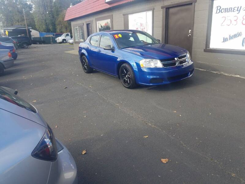 2014 Dodge Avenger for sale at Bonney Lake Used Cars in Puyallup WA
