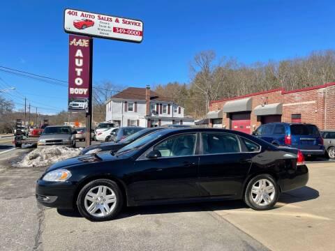 2011 Chevrolet Impala for sale at 401 Auto Sales & Service in Smithfield RI