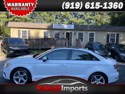 2016 Audi A3 for sale at Raleigh Imports in Raleigh NC