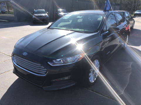 2015 Ford Fusion Hybrid for sale at Car Guys in Lenoir NC