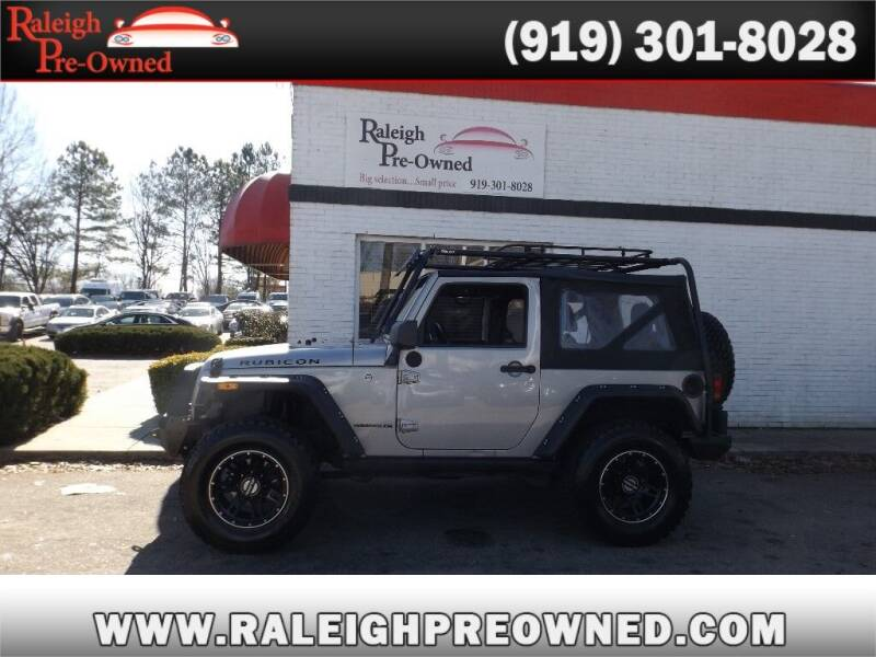 2016 Jeep Wrangler for sale at Raleigh Pre-Owned in Raleigh NC